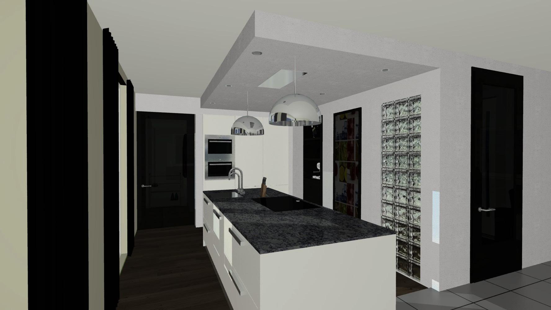 3d keukenontwerp